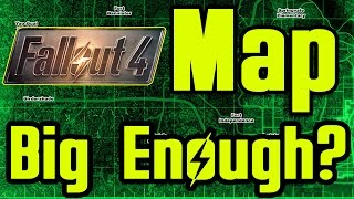 FALLOUT 4 Map Size Revealed HOW BIG
