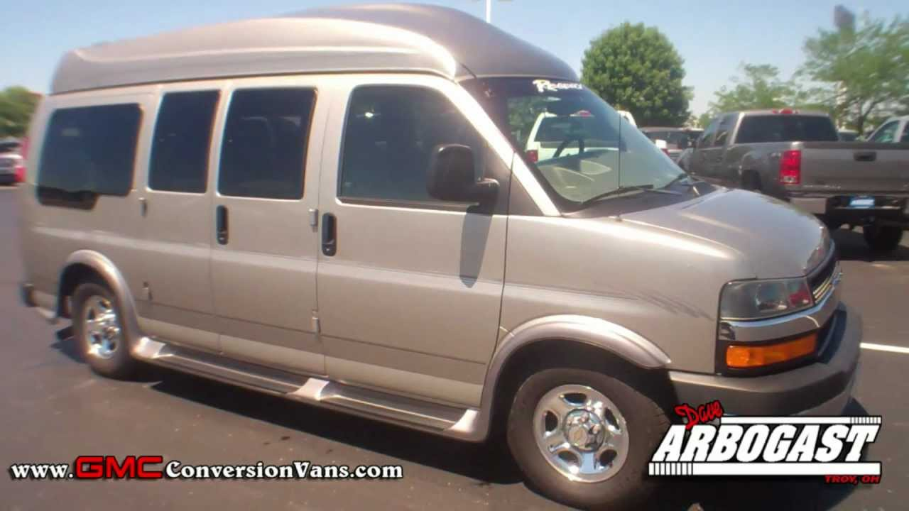 used 2003 chevrolet regency hi top conversion van dave arbogast van depot youtube. Black Bedroom Furniture Sets. Home Design Ideas