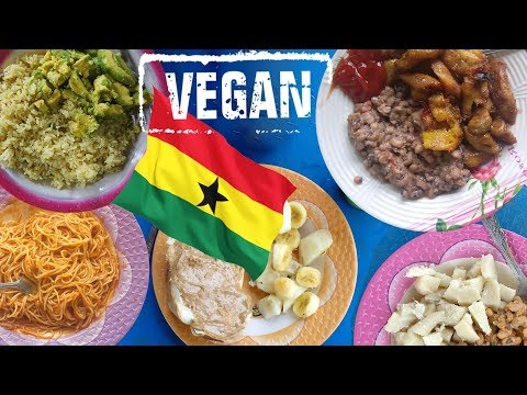What I eat for a week as a vegan in a village in Ghana, Africa