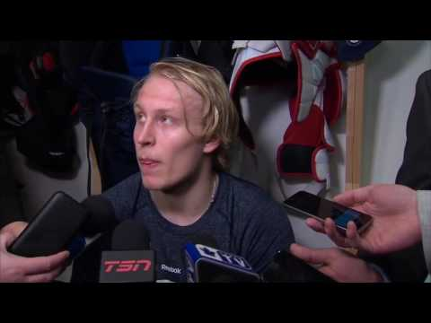 Laine: Think we're playing against Toronto, not too sure