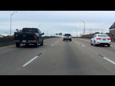 Pontchartrain & Claiborne Expressways (Interstate 10 Exits 230 to 238) eastbound [ALTERNATE TAKE]