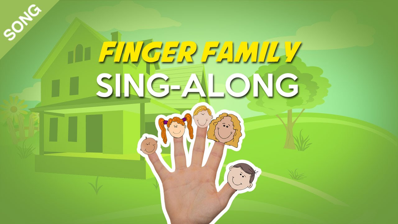 Finger Family Nursery Rhymes Children Songs Sing