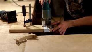 Изготовление дубового кастета