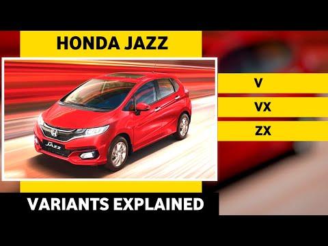 2020 Honda Jazz Variants Explained - (Jazz V, VX & ZX ) BS6 Honda Jazz 2020 Variants