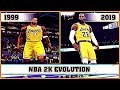 NBA 2K evolution [1999 - 2019]