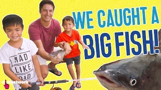 We Caught A Big Fish! - Daddy Diaries: EP3