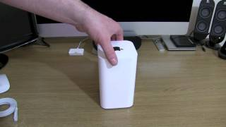 Apple Airport Time Capsule 2TB. Unboxing Airport Time Capsule 2013 model