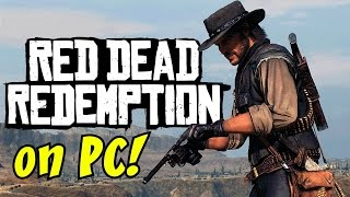 RED DEAD REDEMPTION ON PC GAMEPLAY / WALKTHROUGH (Episode 1) - CAN