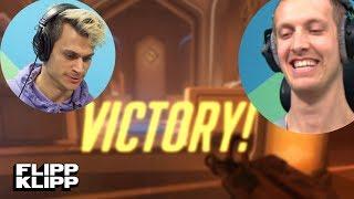 JONAS RAGER MOT HENRIK OG VICTOR! Overwatch