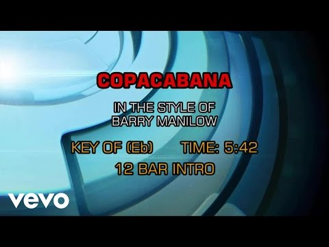 Barry Manilow - Copacabana (Karaoke)