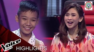 Coach Sarah at Lea, napasigaw nang muling makita si Rock | The Voice Teens Philippines 2020