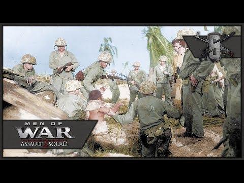 Betio Island Marine Naval Invasion - MoW:AS 2 Valour Mod