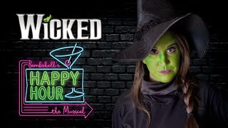 Wicked's Apple Martini - Happy Hour the Musical