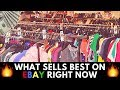 What Sells Best on eBay ( Right Now) Men's Clothing From Thrift Stores