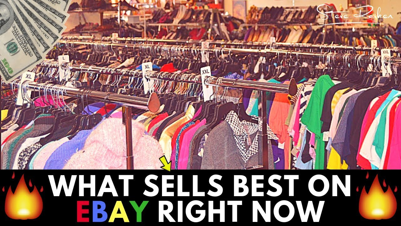 What Sells Best On Ebay Right Now Men S Clothing From Thrift Stores Youtube