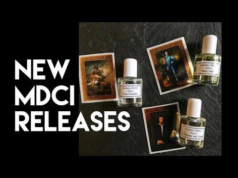 MDCI New Releases : Blue Satin   Cuir Cavalier   L'Homme Aux Gants