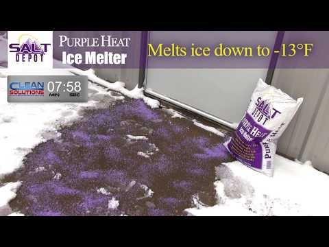 Purple Heat Ice Melt