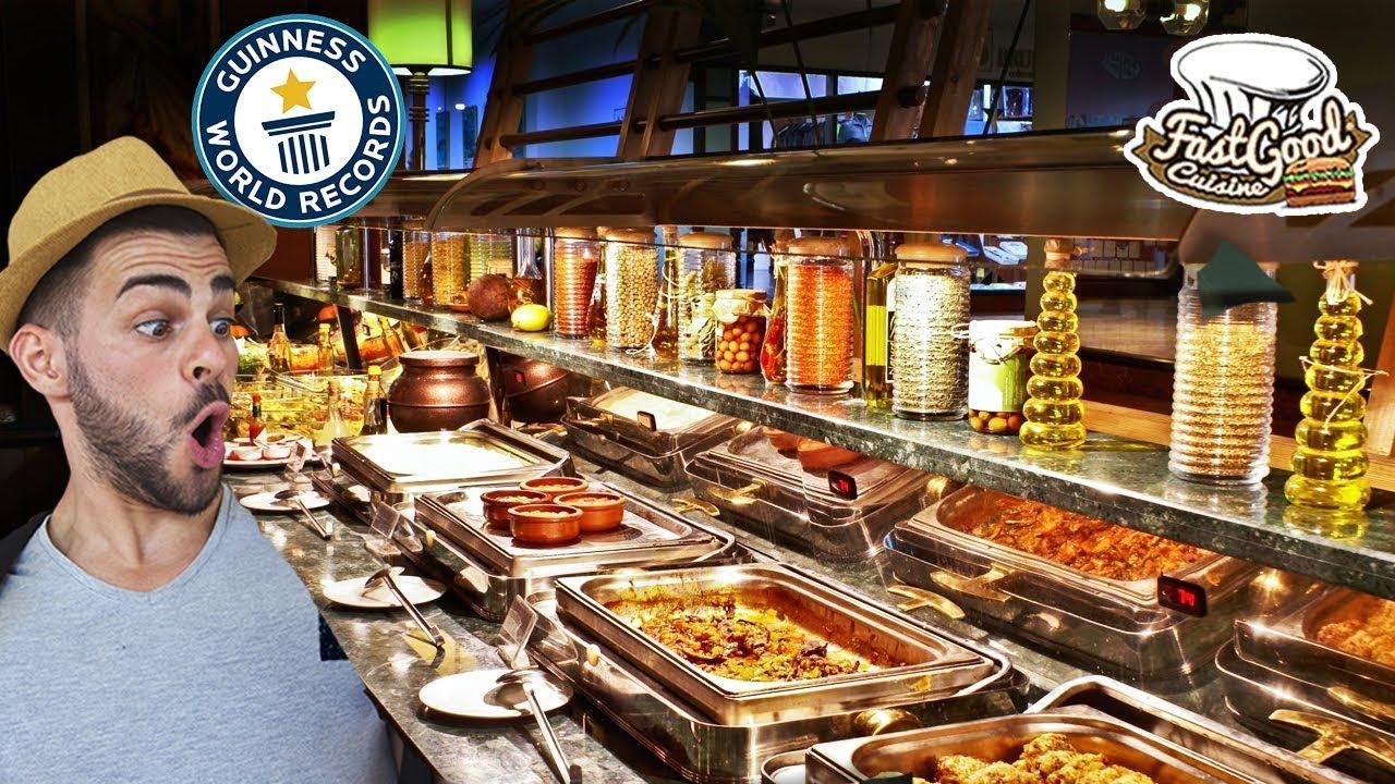 le plus grand buffet du monde