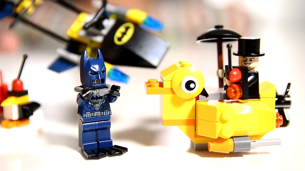 Lego Batman: The Penguin Face Off - DC Comics Super Heroes ...