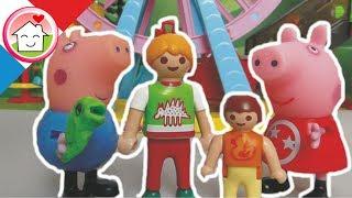 Playmobil en français Sortie au Park de Peppa -  La famille Hauser / film pour enfants