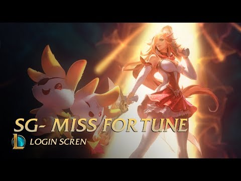 Star Guardian Miss Fortune   Login Screen - League of Legends (unofficial)