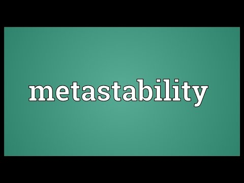 Header of metastability
