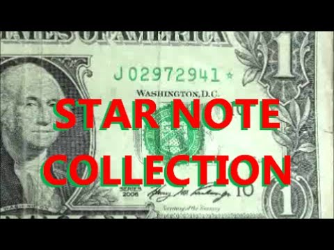 STAR NOTE COLLECTION - collectible U.S. CURRENCY found in circulation