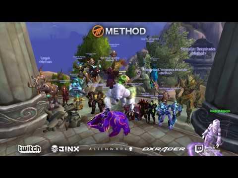 METHOD VS KIL'JAEDEN WORLD FIRST MYTHIC NERD SCREAMS