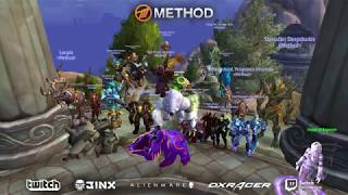 METHOD VS KIL'JAEDEN WORLD FIRST MYTHIC NERD SCREAMS