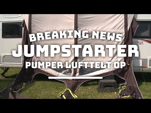 Breaking News: Jumpstarter puster lufttelt op!