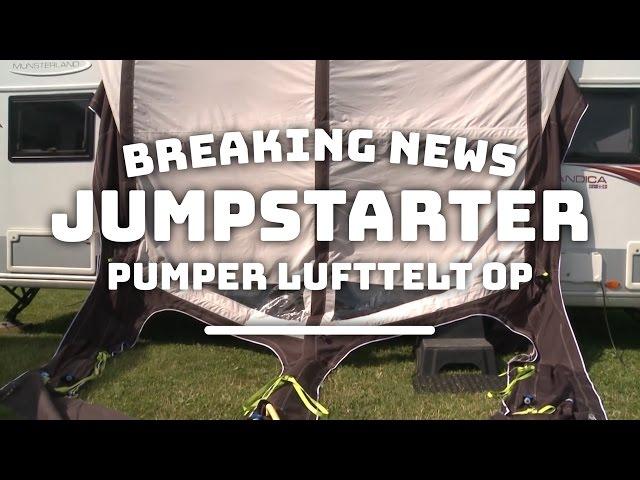 Breaking News: Jumpstarter puster lufttelt op!