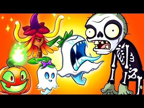 Plants vs. Zombies 2 Lawn of Doom - WITCH HAZEL - GHOST PEPPER
