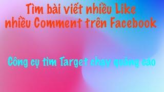 Tìm bài viết nhiều Like trên Facebook - Mua chung PowerAdspy và BigSpy
