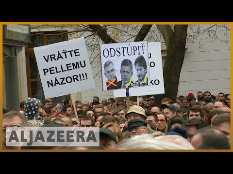 🇸🇰 Slovakia police chief to resign after journalist's murder | Al Jazeera English