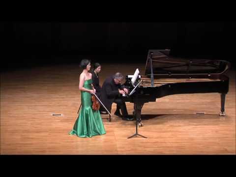 "Ju-Young Baek & Ralf Gothoni - Alfred Schnittke Sonata No.2 for Violin and Piano ""Quasi una Sonata"""
