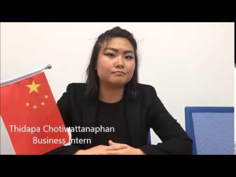 Meet Thidapa- CRCC Asia 2015 Business Intern in Shenzhen
