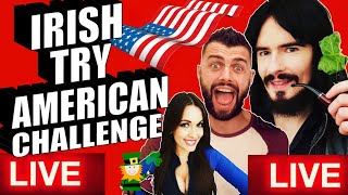 'IRISH PEOPLE TRY LIVE STREAM!! - 'Live Show 2019'
