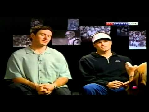 Tom Brady Interview with Bledsoe Before Super Bowl 2002