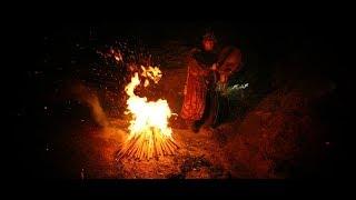 Тувинская шаманская музыка  - обертонное пение и бубен