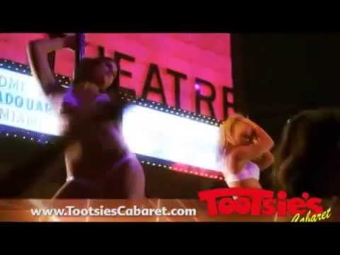 Tootsie's cabaret Miami Strip Club 2014