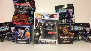 Five Nights at Freddy's Dark SpringTrap Mystery Minis Radz Pint Size Heroes Surprise Toy Opening