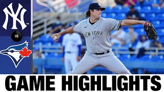 Yankees vs. Blue Jays Game Highlights (4/12/21) | MLB Highlights