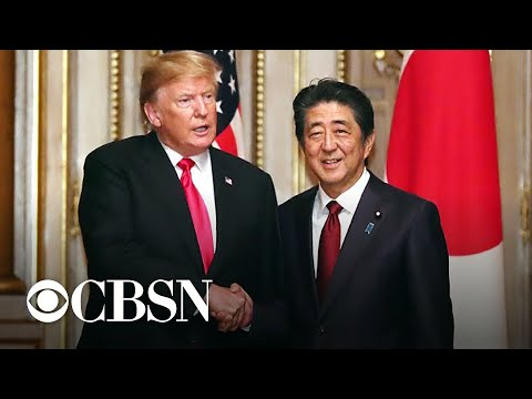 Trump and Abe discuss North Korea, trade and Iran during Japan visit