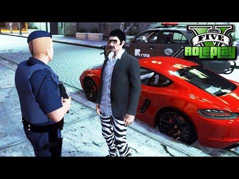 GTA V: ROLEPLAY POLICIAL - O LADRÃO de CARRO DE LUXO!!! #207