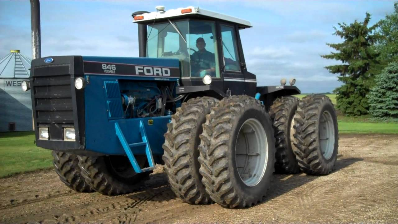 Ford Tractor Company : Goranson october ford versatile tractor mack
