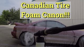 homepage tile video photo for Simoniz Foam Blaster from Canadian tire review