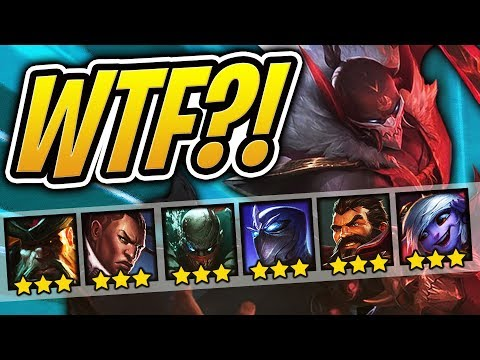So Many 3 STAR Units WTF?! ⭐⭐⭐ | Teamfight Tactcs | TFT | League of Legends Auto Chess