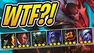 So Many 3 STAR Units WTF Teamfight Tactcs TFT League Of Legends Auto Chess