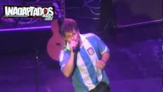 Morten Harket en Argentina - Foot Of The Mountain (28-09-12) HD