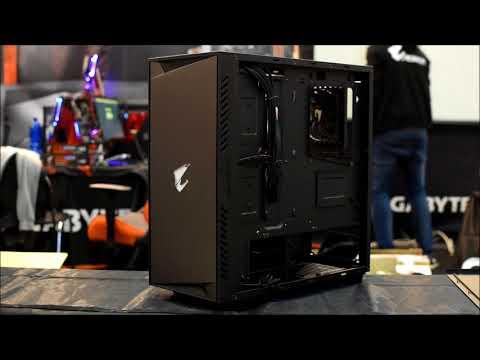 GIGABYTE AC300W Gaming case (unboxing)